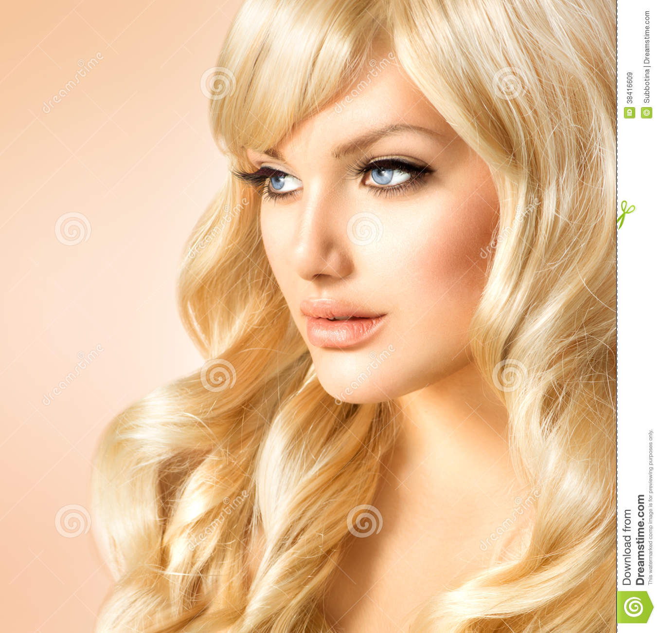 Blonde Woman Portrait Royalty Free Stock Images Image