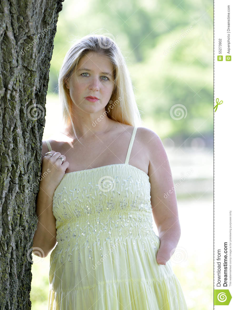 Dress blonde outside photography join