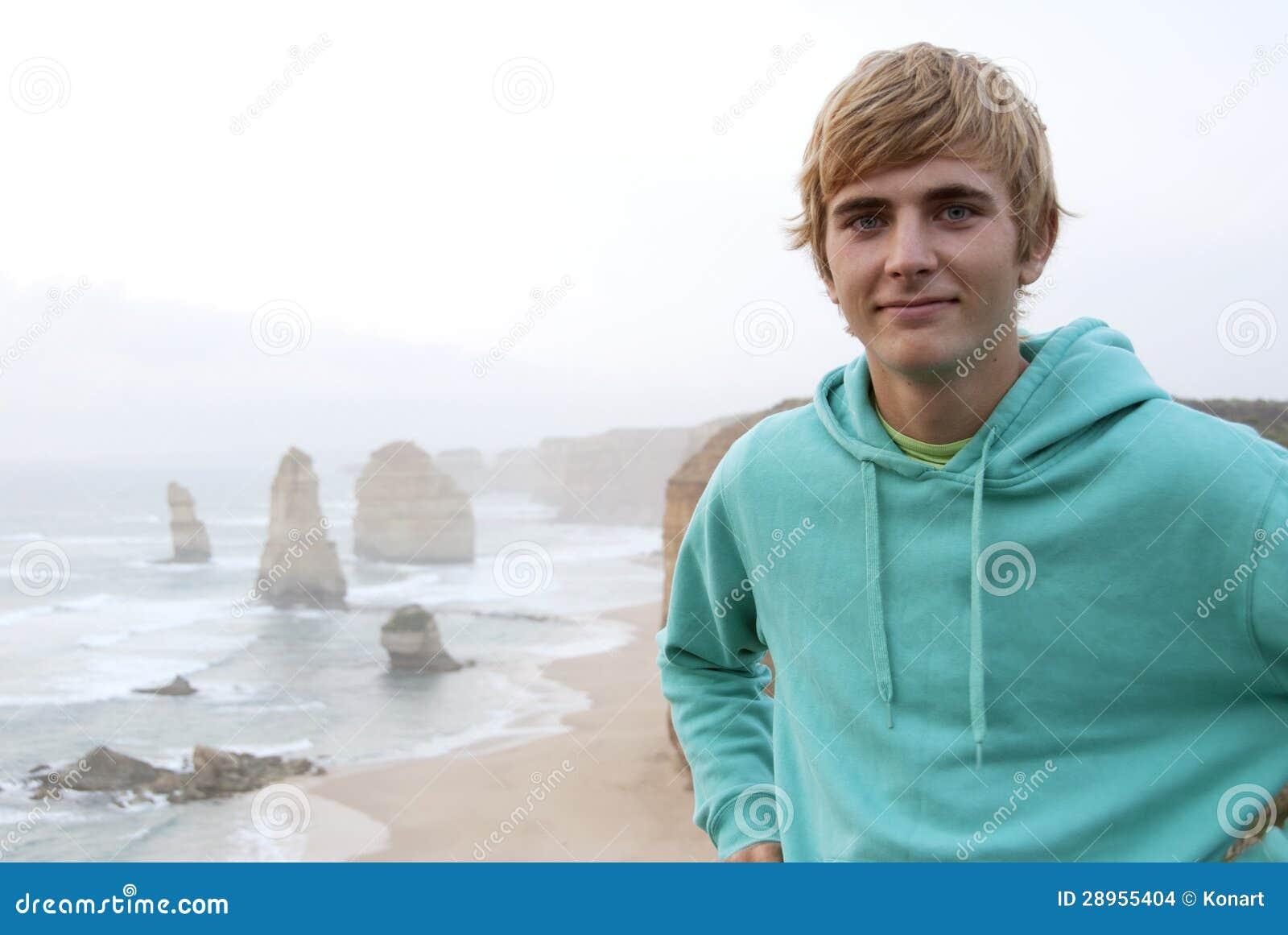 Blonder Mann
