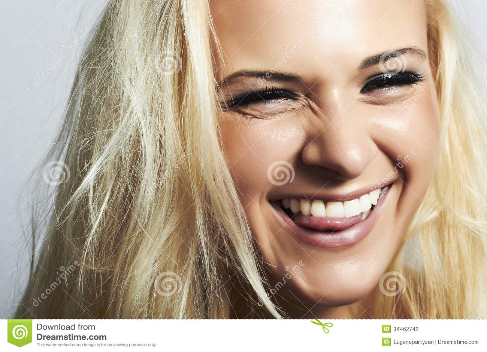 Smile Mit Zunge