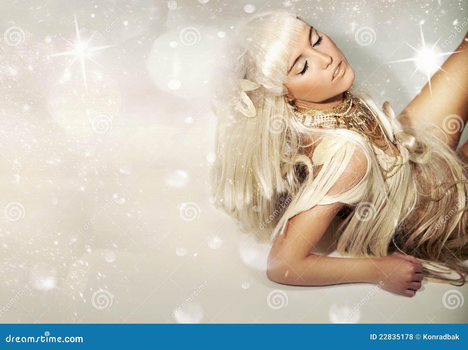 Blondie lindo