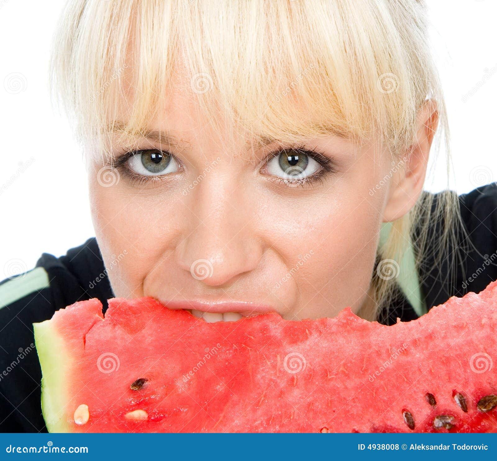 Blondy Einflusswassermelone