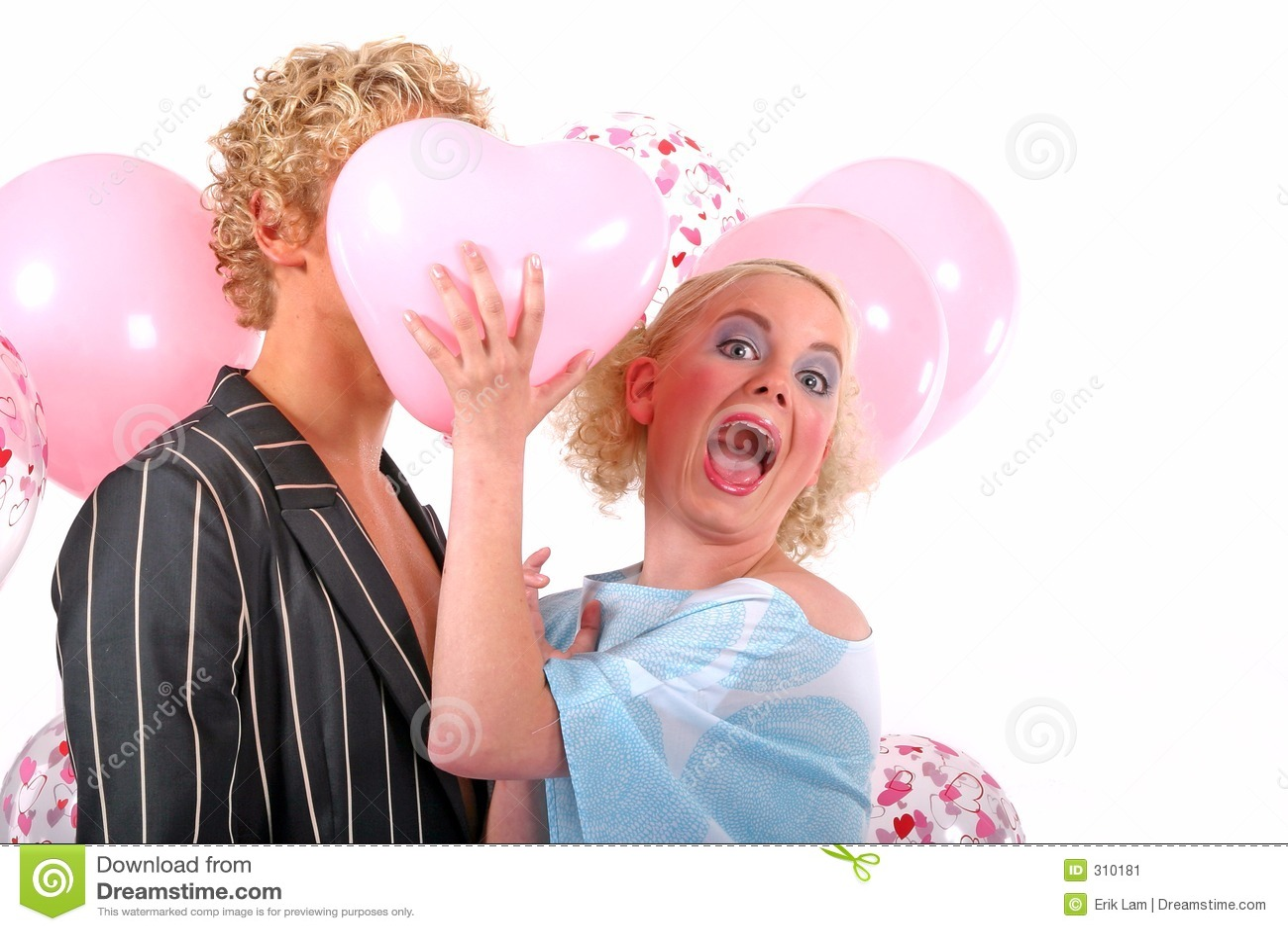 Blondyn pary młode miłości
