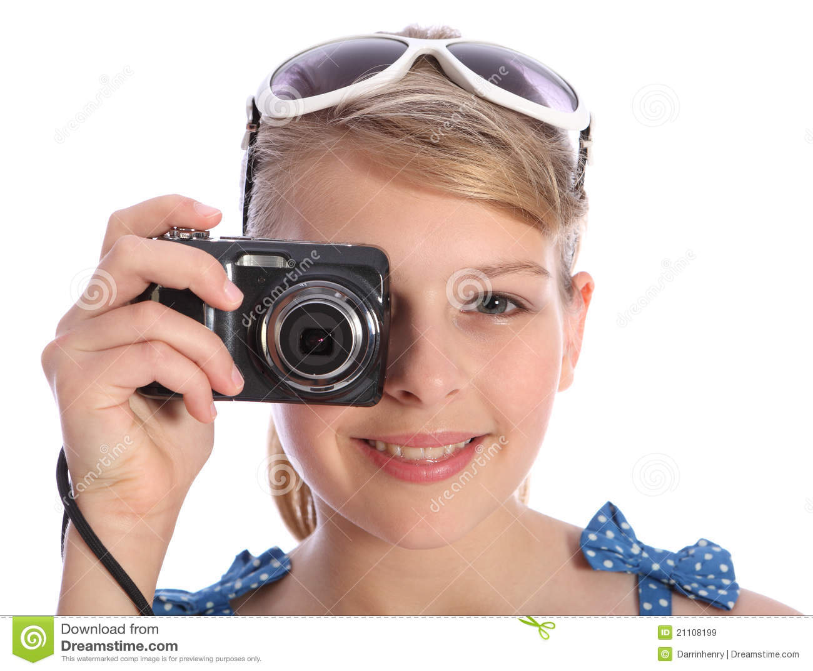 Nastolatki kamery