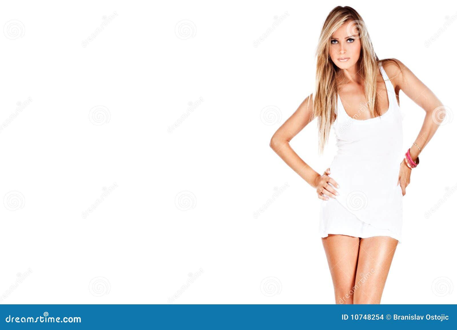 Blondynu model