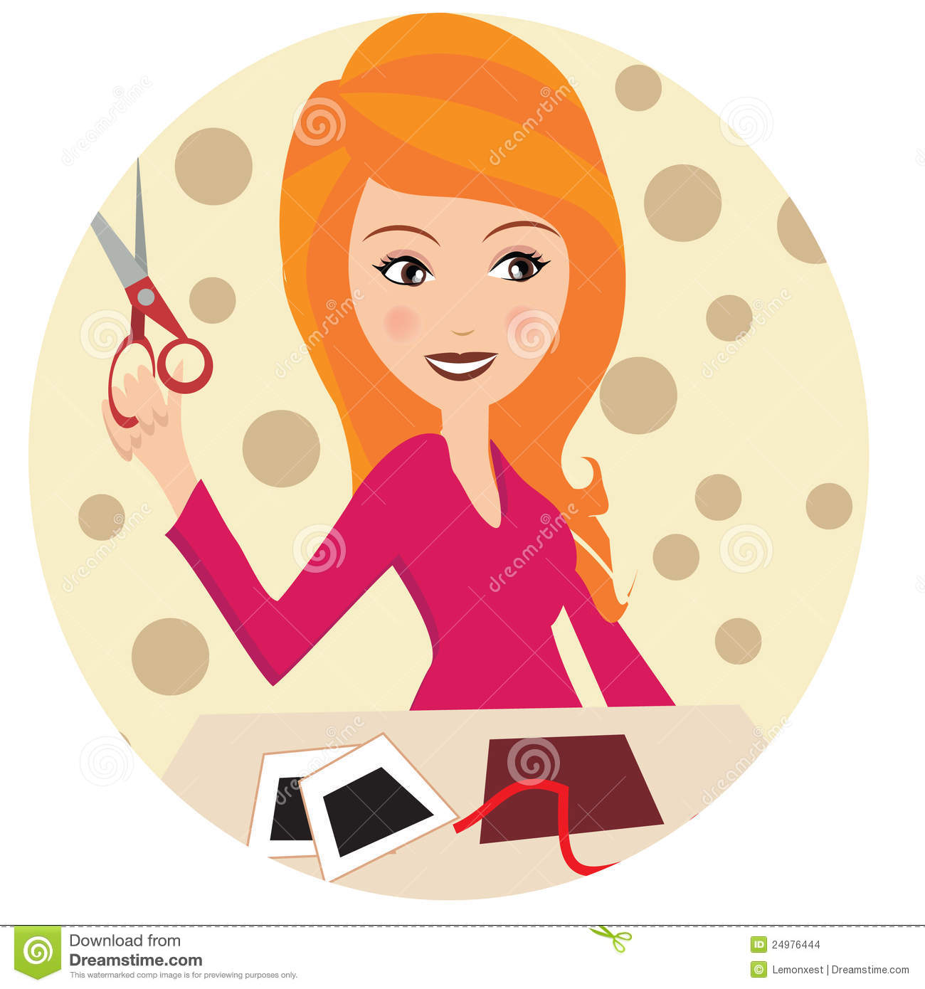 Clip Art Of People Crafting