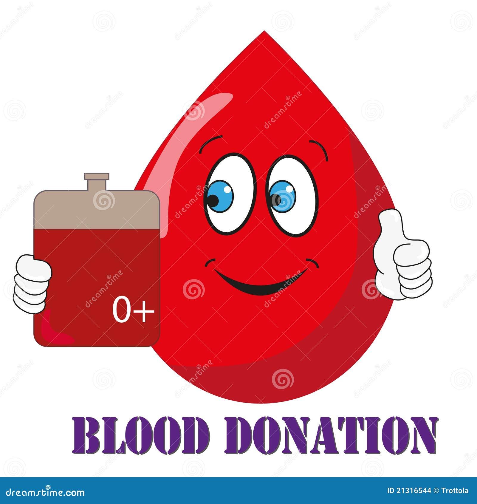 Fake, Blood sperm donation Mit der