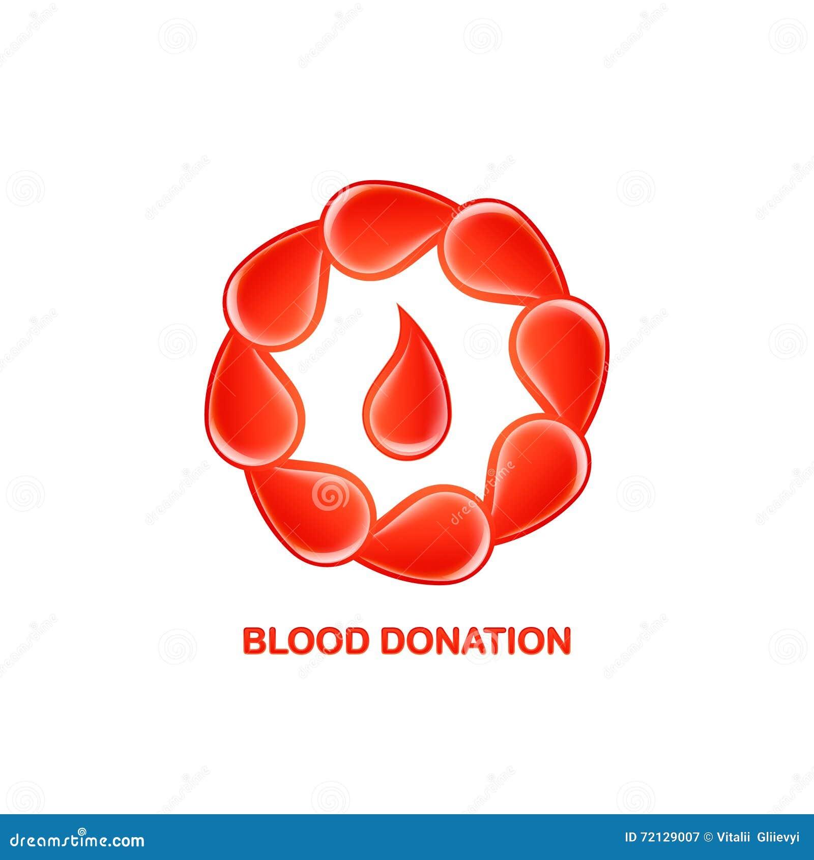 Blood donation logo stock vector illustration of health 72129007 blood donation logo buycottarizona