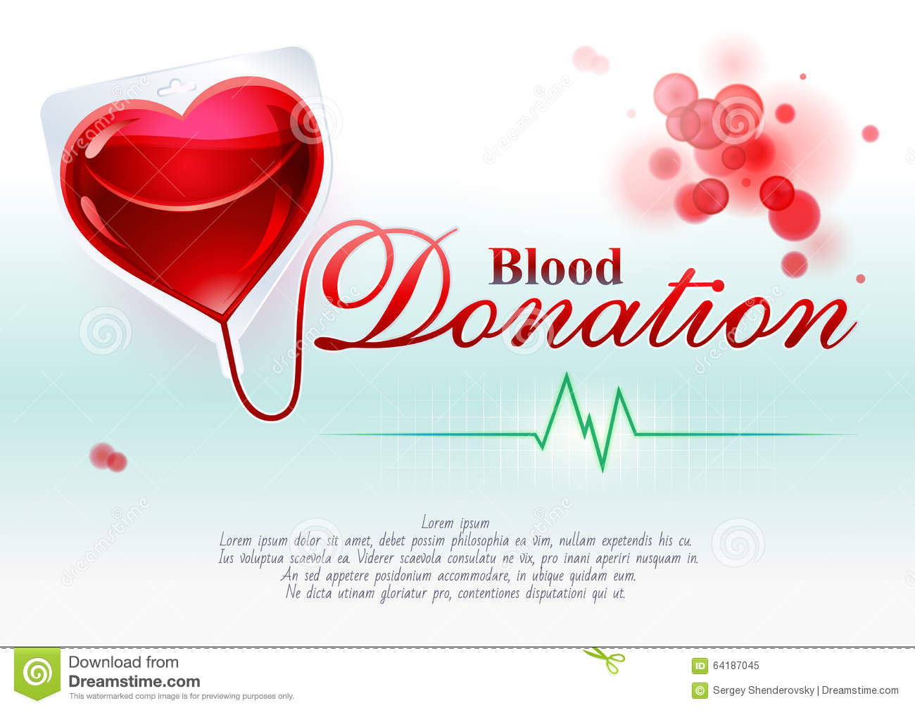 Blood donation stock vector illustration of donate assistance blood donation kristyandbryce Image collections