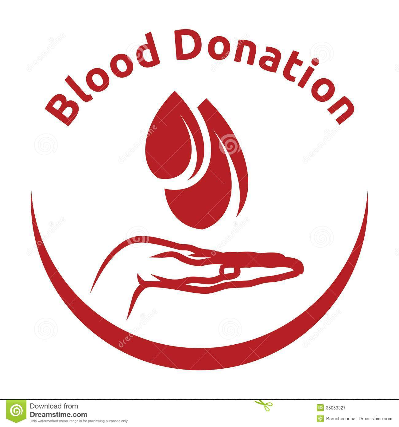 Blood Donation Stock Vector Image Of Illustration Clip 35053327
