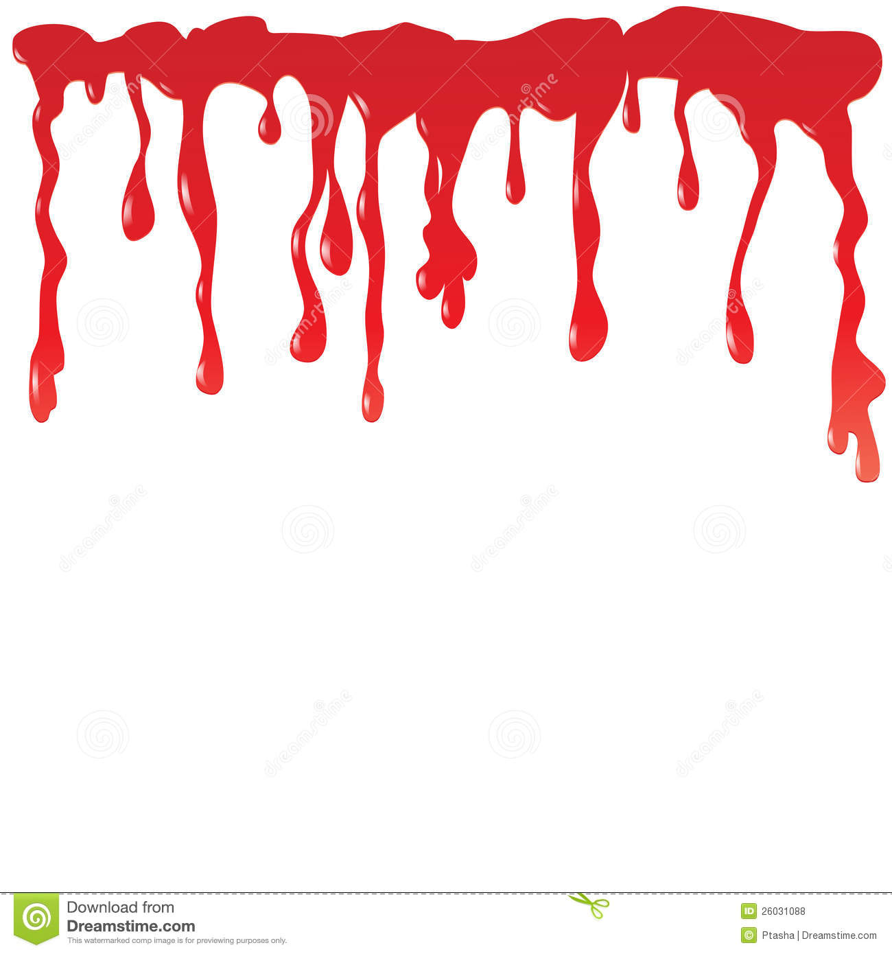dripping blood clipart border free - photo #33
