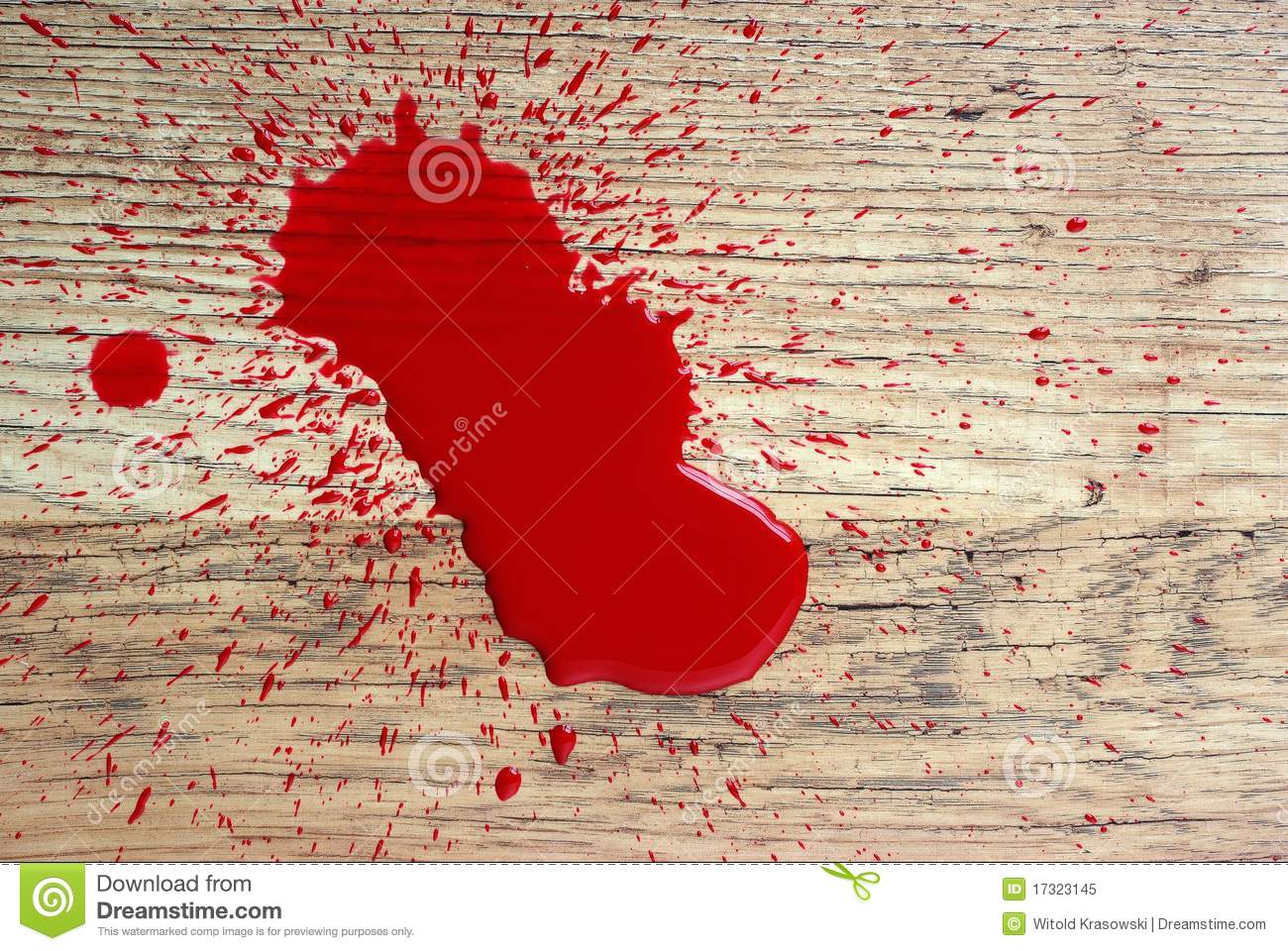 Blood On Floor Royalty Free Stock Photo Image 17323145
