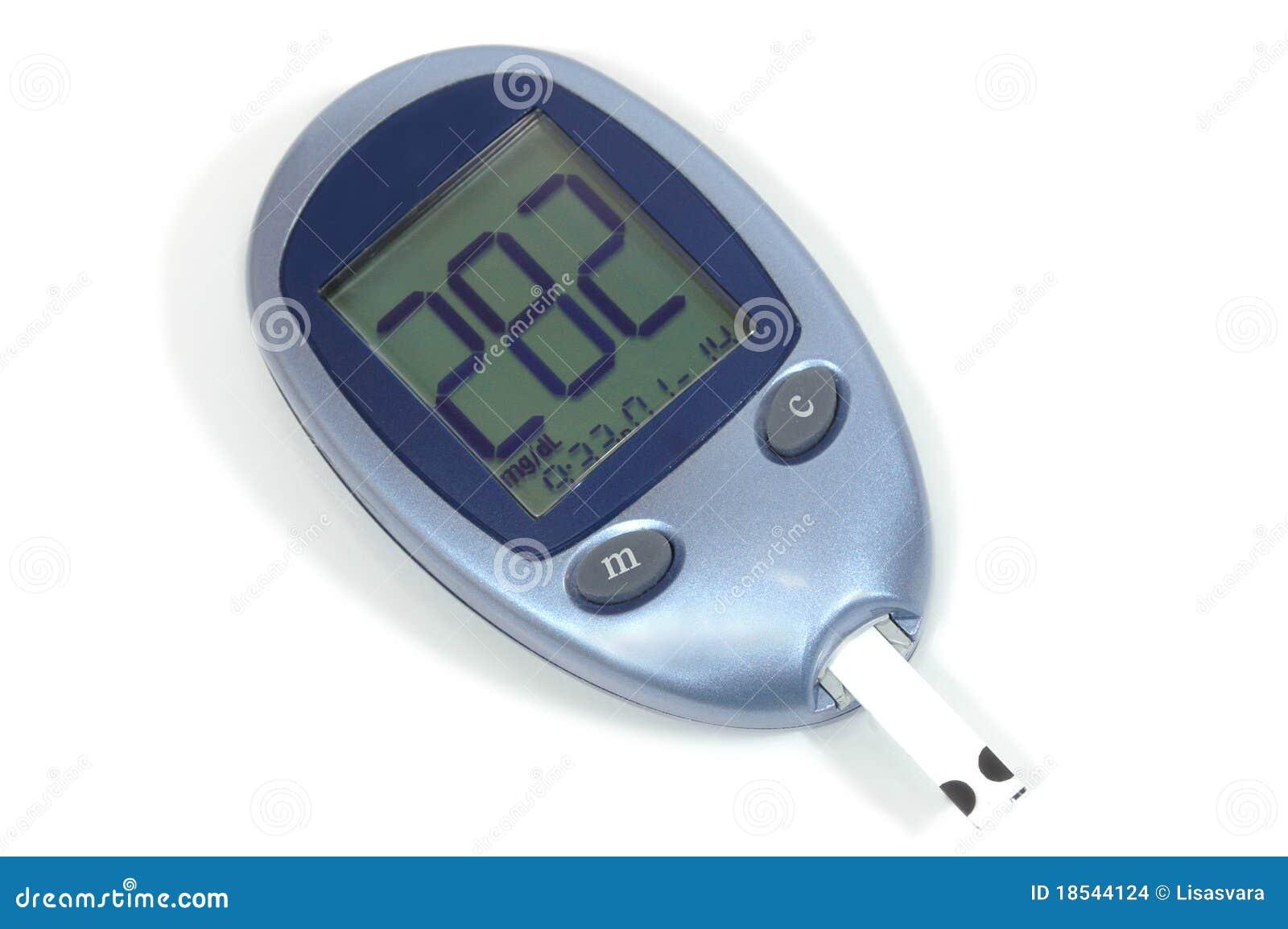 Glucose meter sugar level go