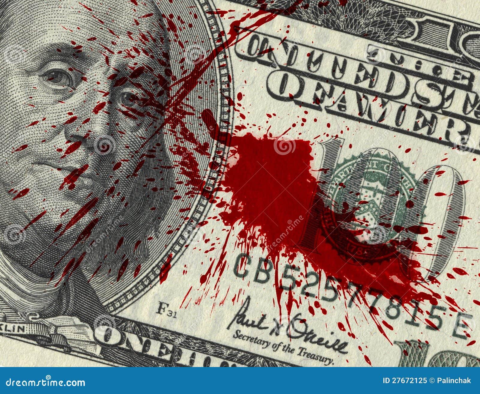 Blood Money Royalty Free Stock Photo - Image: 27672125