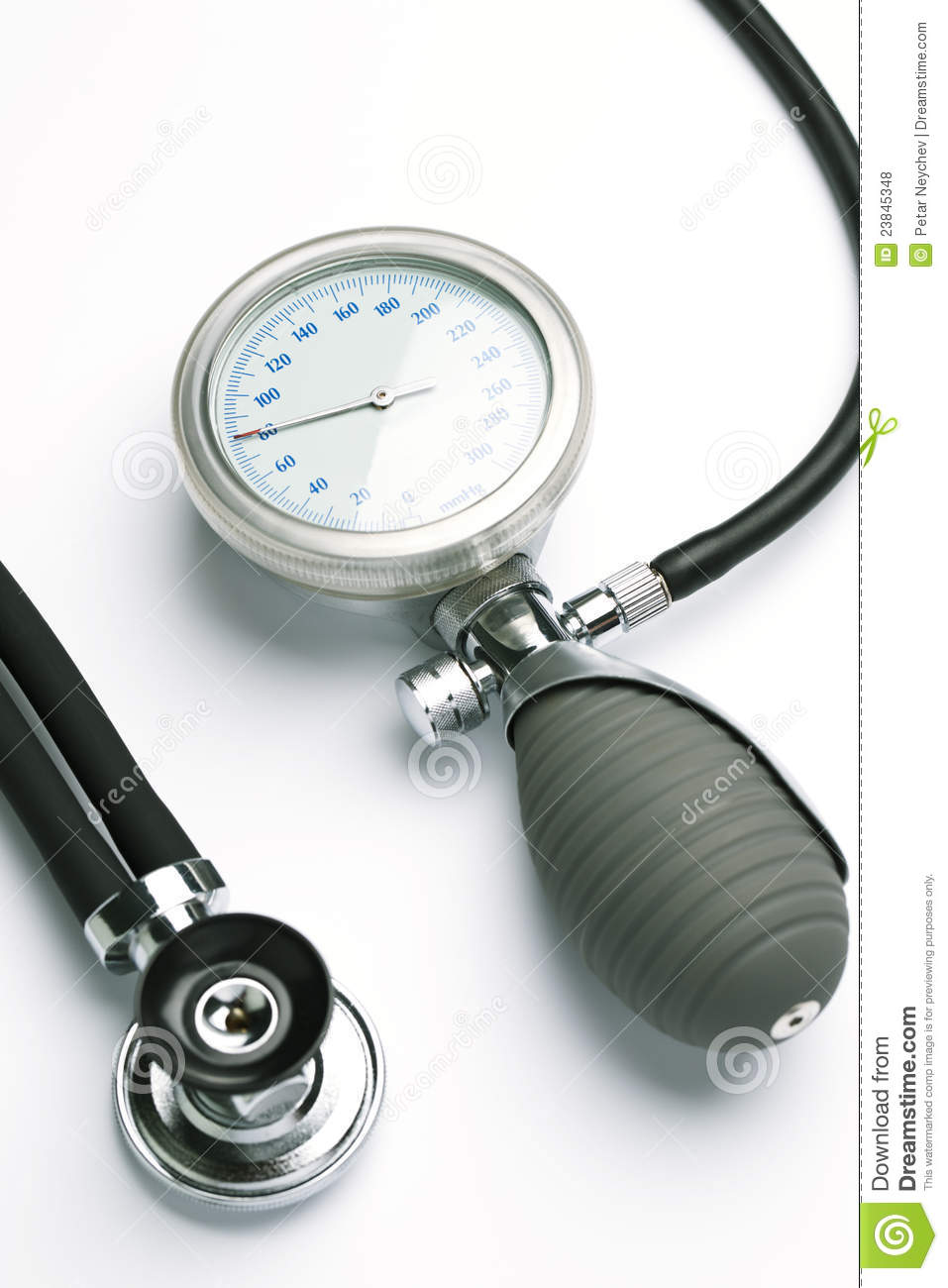 how to read high blood pressure meter