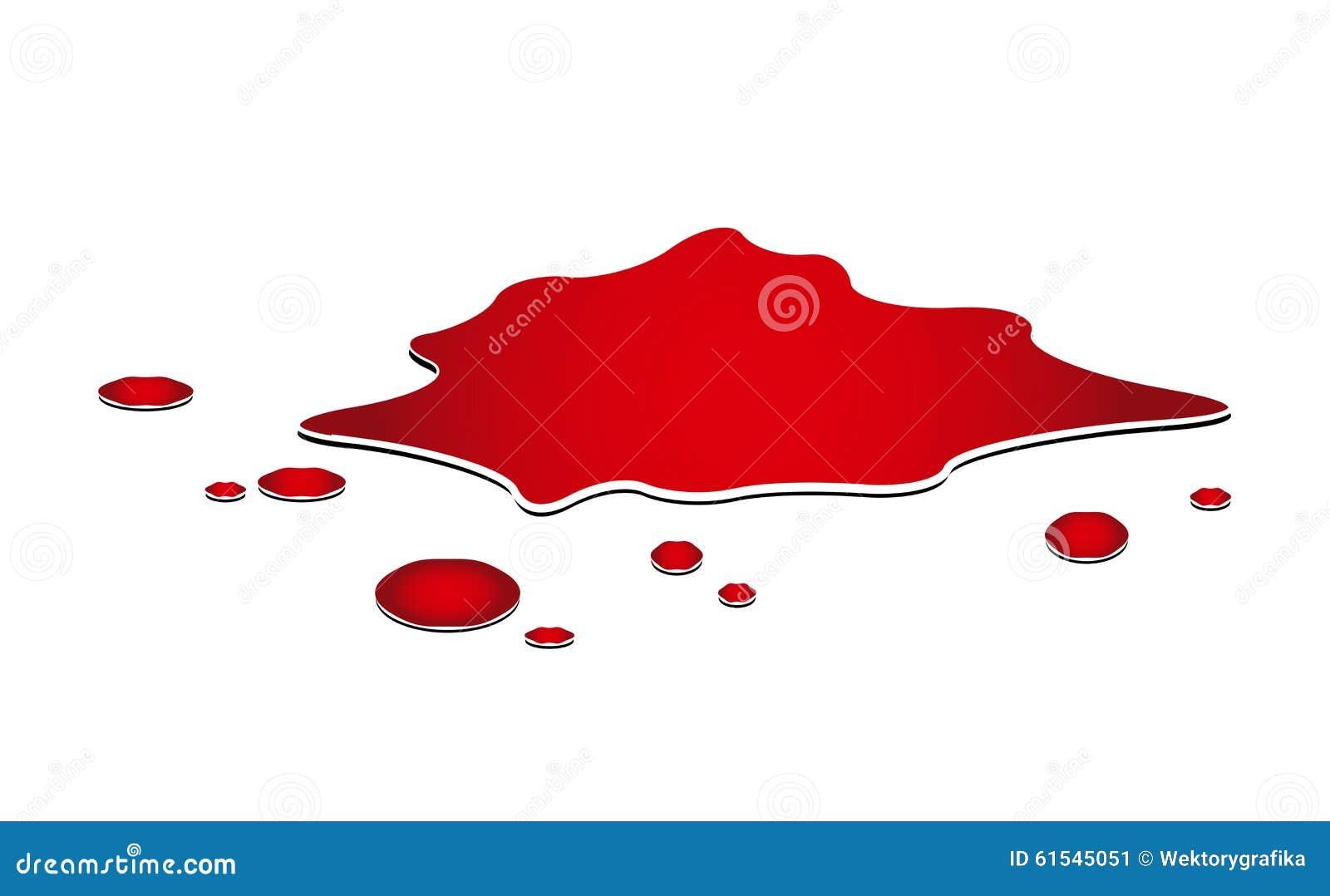 cartoon blood puddle images galleries. Black Bedroom Furniture Sets. Home Design Ideas