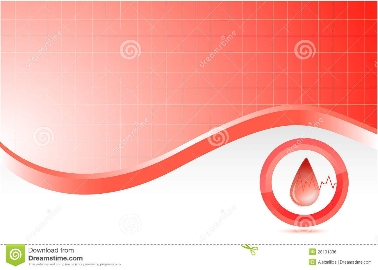 red medical background - photo #11