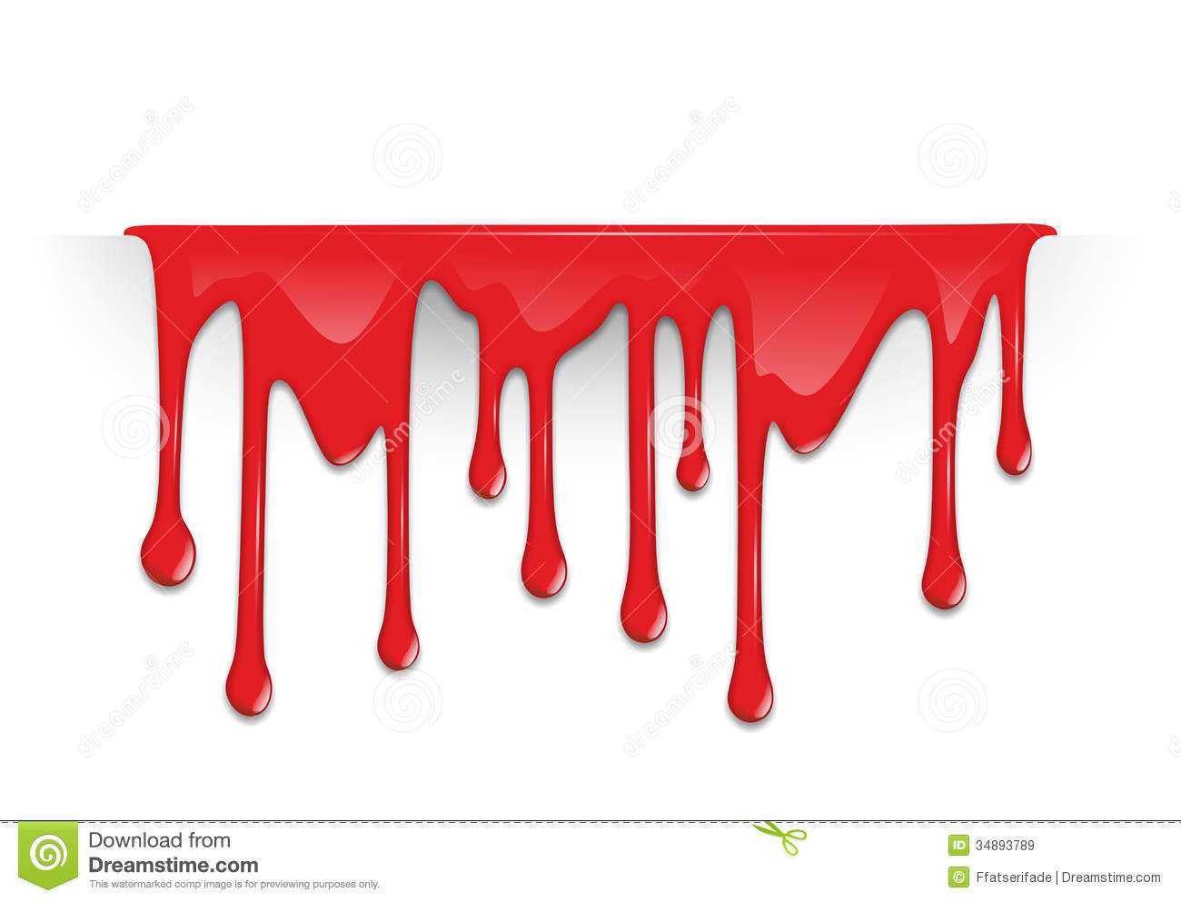 dripping blood clipart border free - photo #18