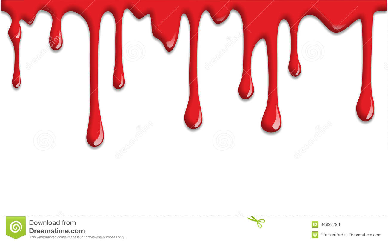 royalty free stock photo - Blood For Halloween