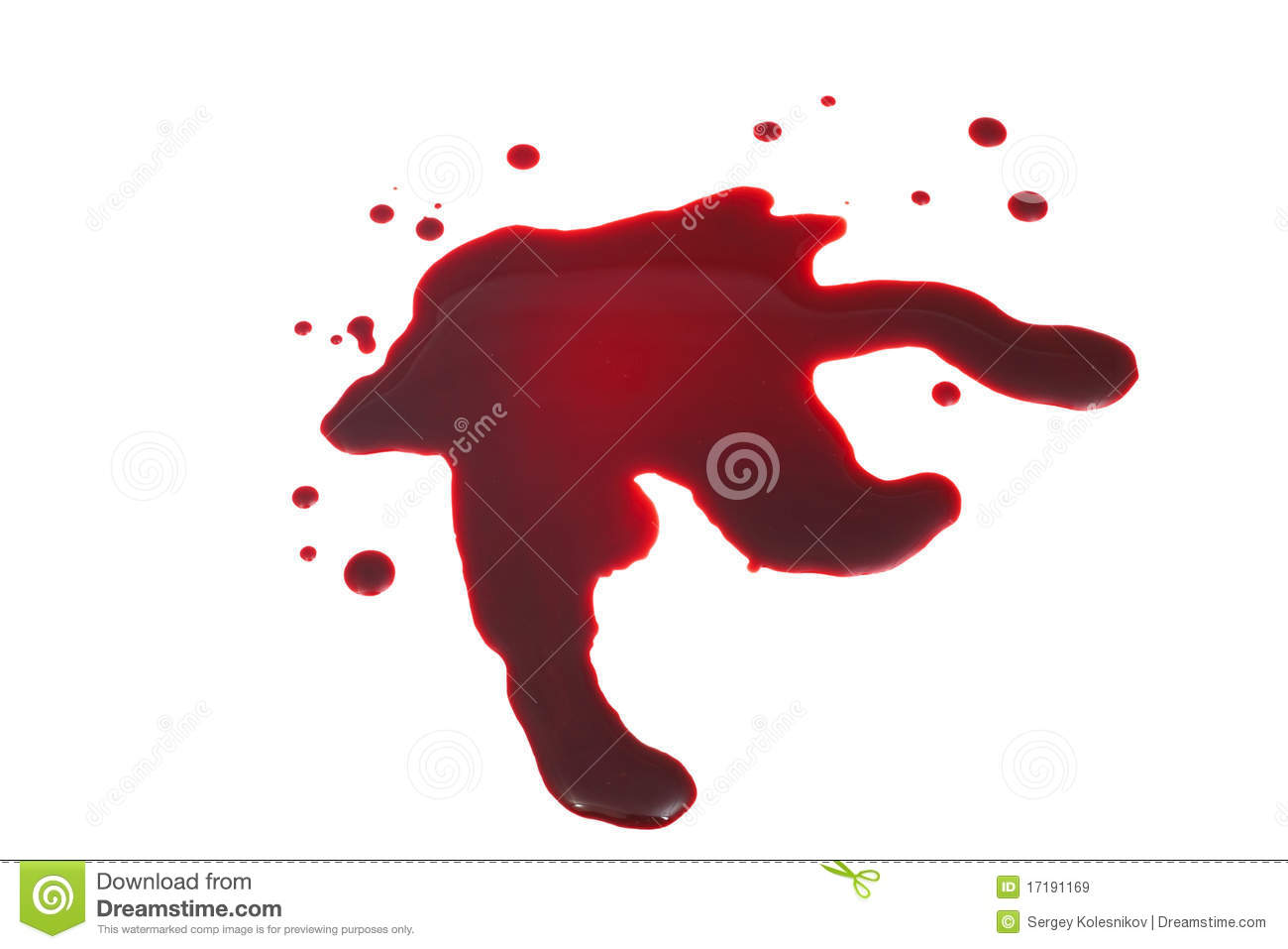 Blood Stain Royalty Free Stock Images Image 17191169