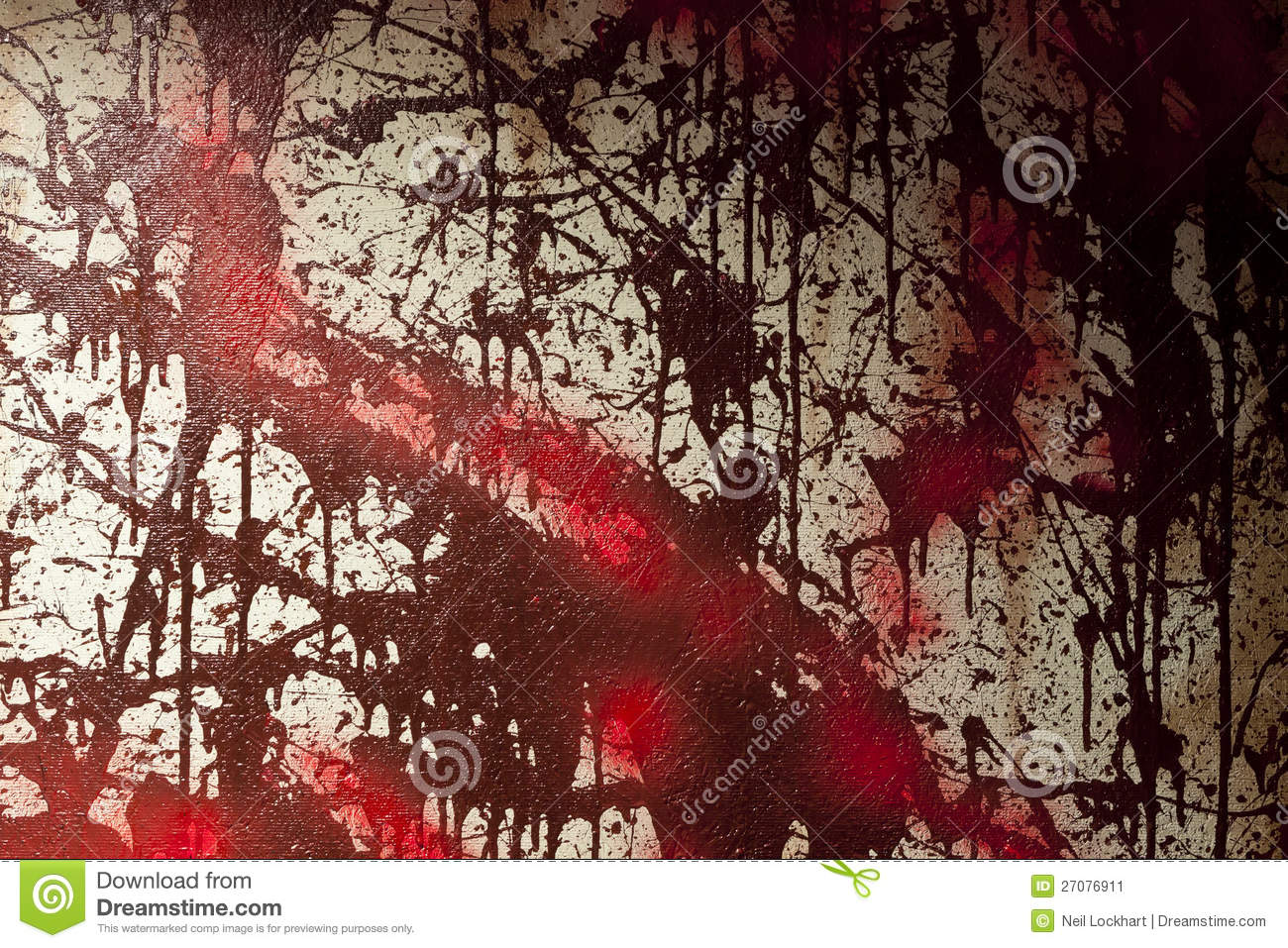 how to make fake blood stains