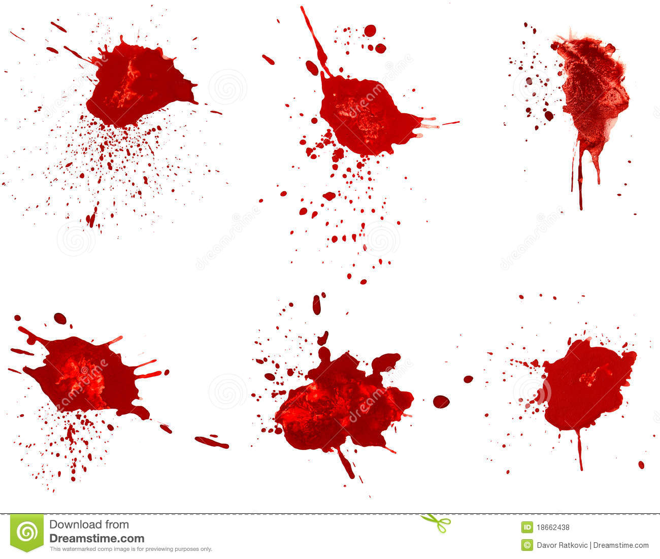 Blood stains royalty free stock photos image 18662438