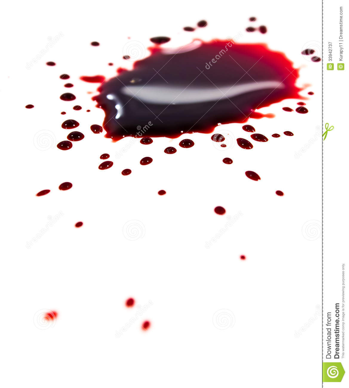 blood stains puddle stock image image of grungy