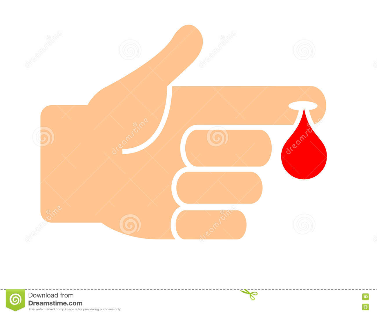 Blood test medical vector icon stock vector illustration of blood test medical vector icon buycottarizona Images