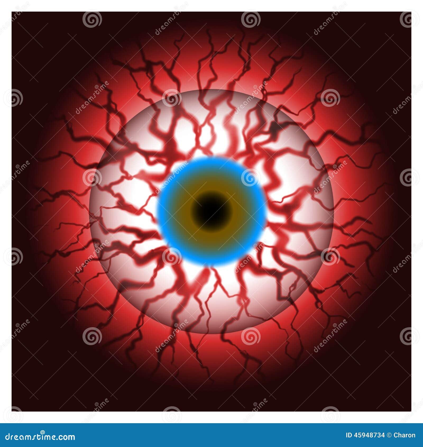 Bloodshot Eyes Concept Art