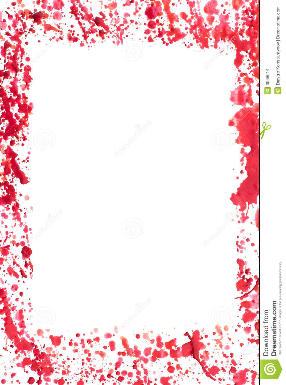 bloody frame stock photo image of blot dots grunge