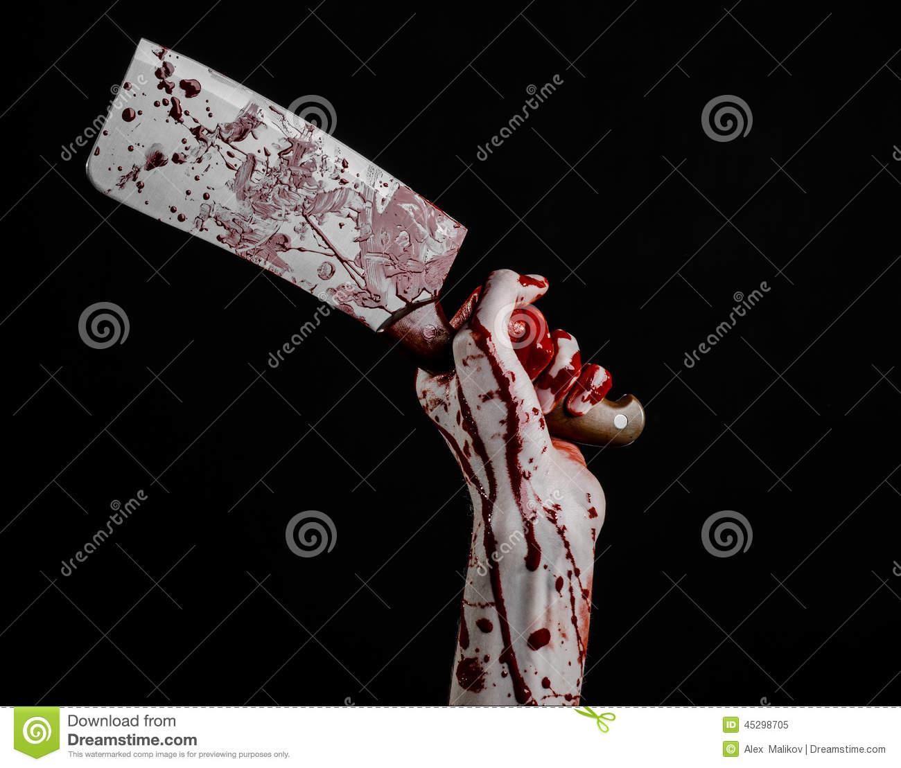 bloody hand holding - photo #49