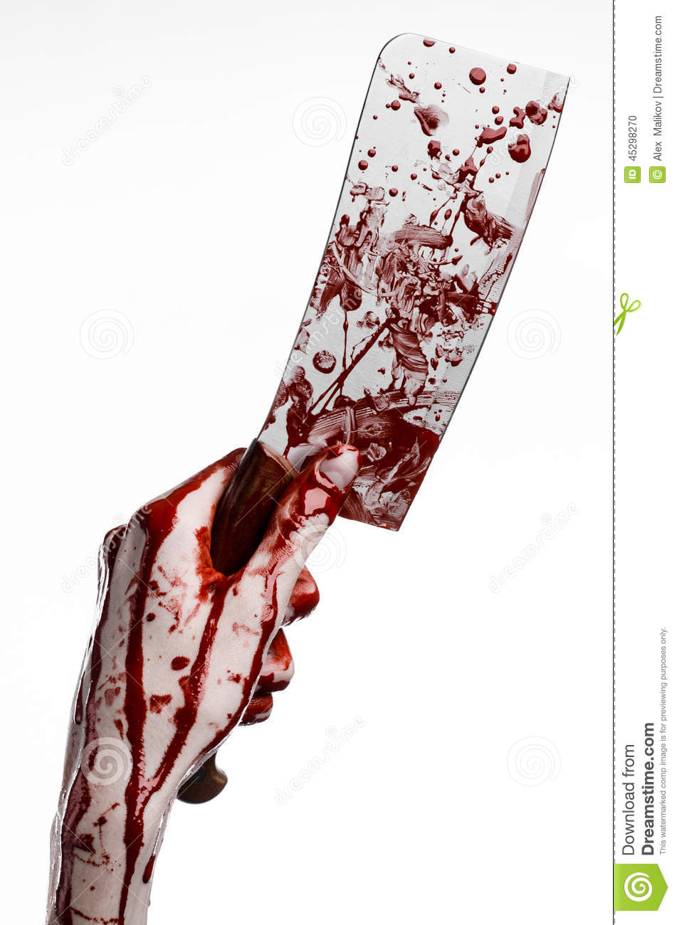 bloody hand holding - photo #13