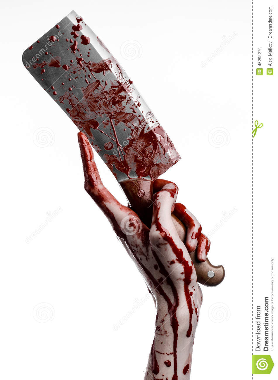 bloody hand holding - photo #29