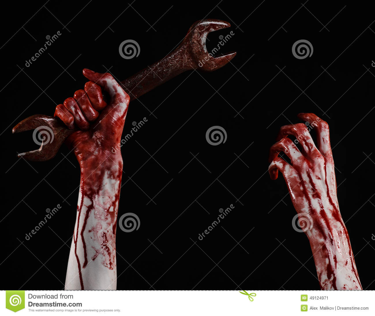 bloody hand holding - photo #25