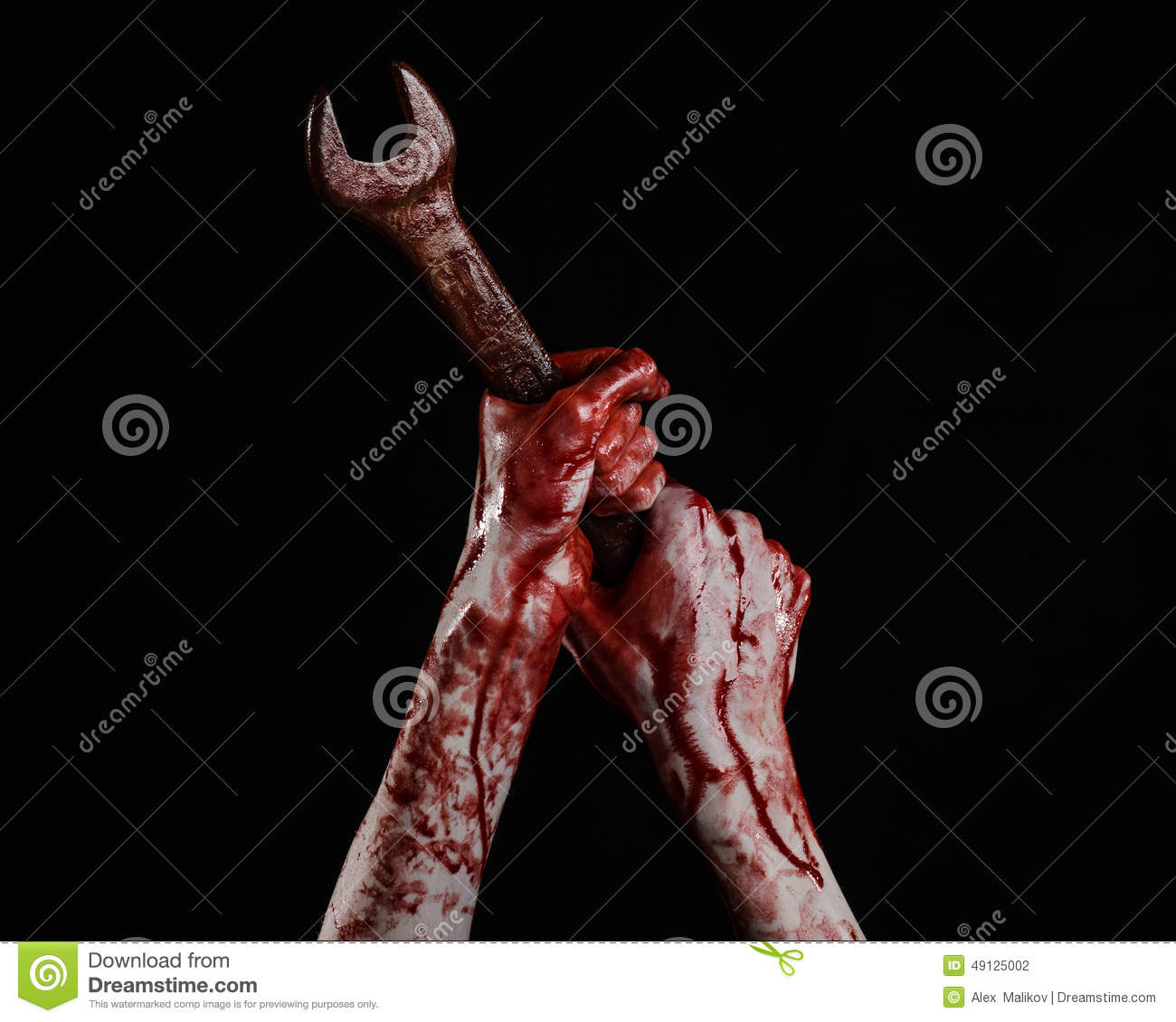 bloody hand holding - photo #27