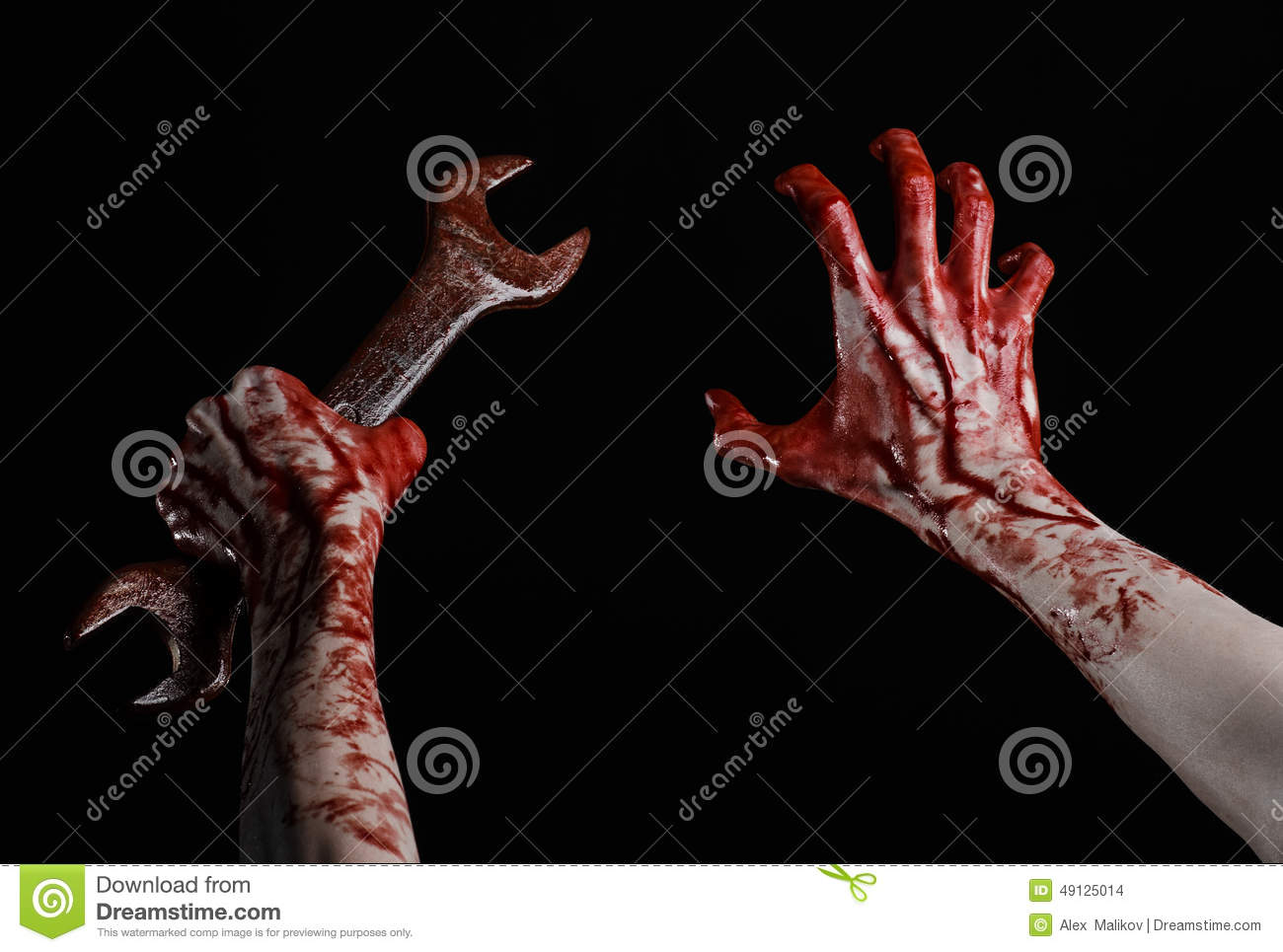 bloody hand holding - photo #42
