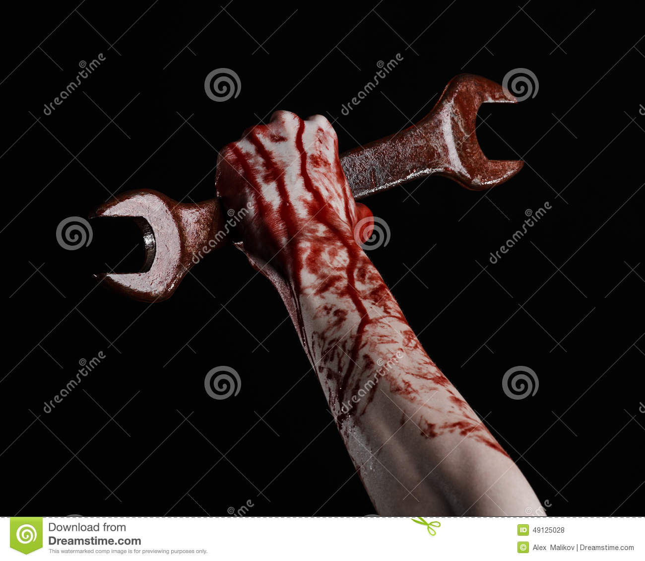 bloody hand holding - photo #39