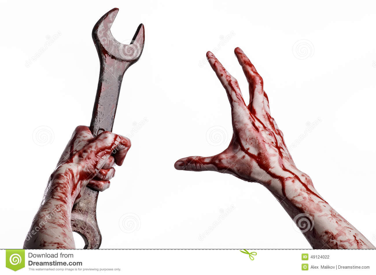 bloody hand holding - photo #15