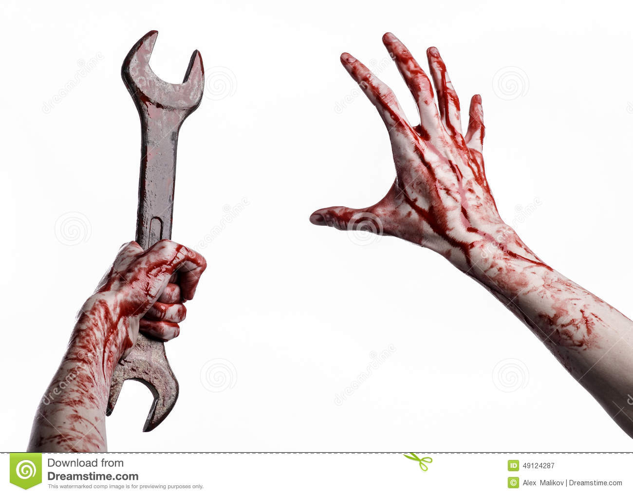 bloody hand holding - photo #47