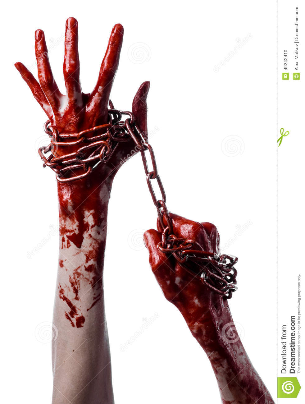 bloody hand holding - photo #16