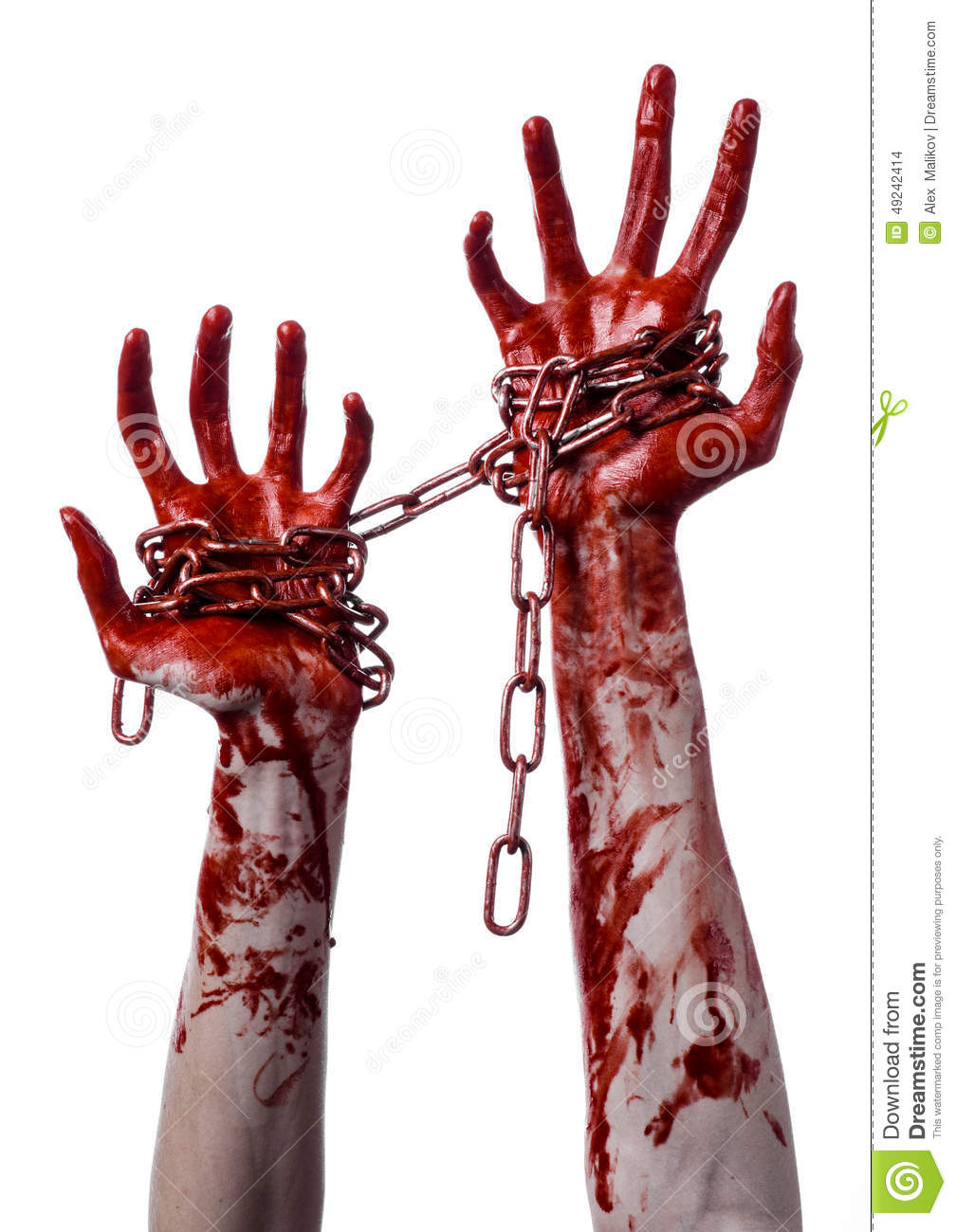bloody hand holding - photo #23