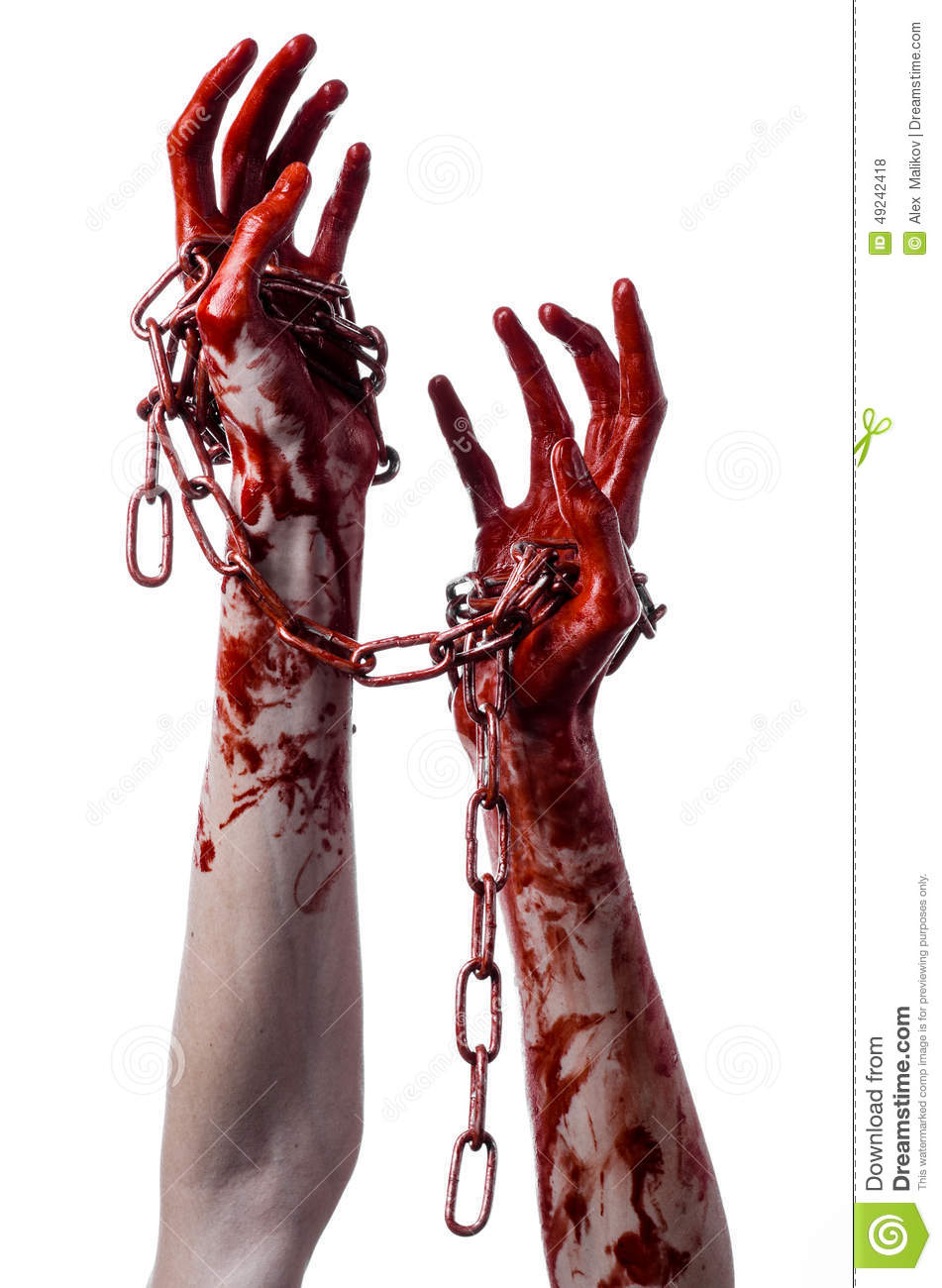 bloody hand holding - photo #11