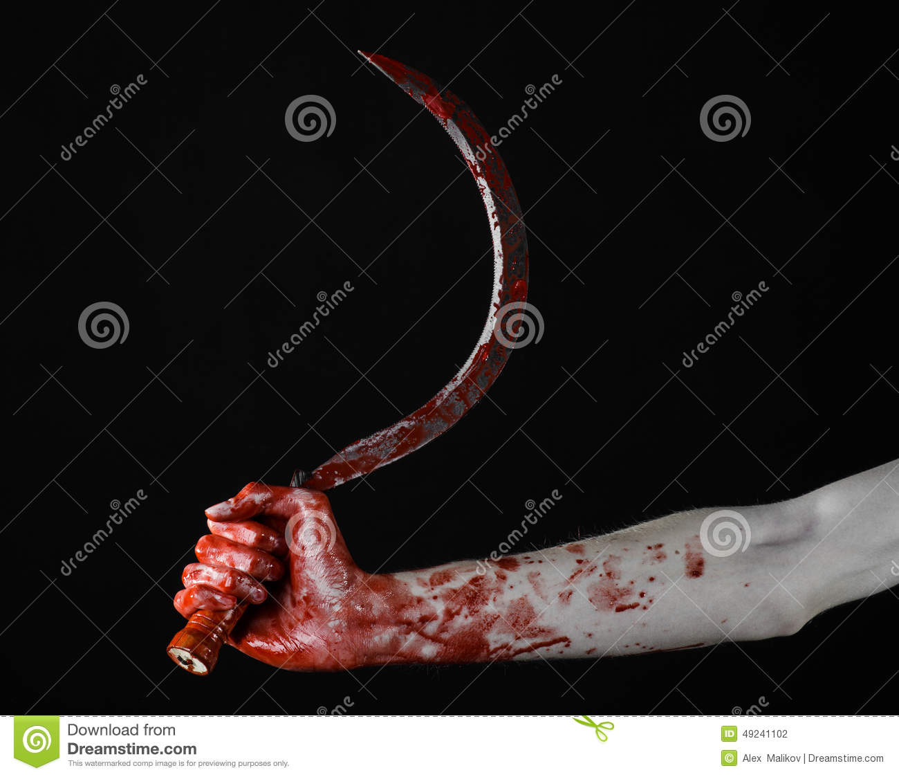 bloody hand holding - photo #22