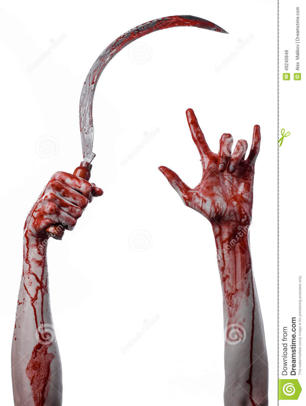 bloody hand holding - photo #9