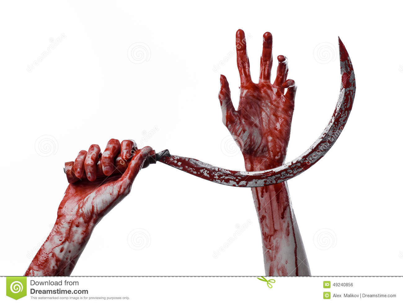 bloody hand holding - photo #14