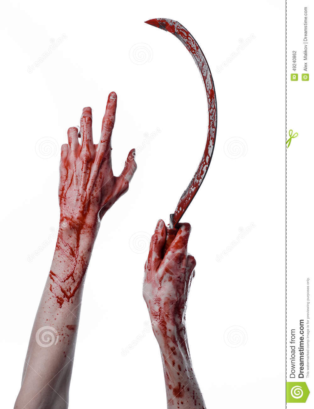 bloody hand holding - photo #6