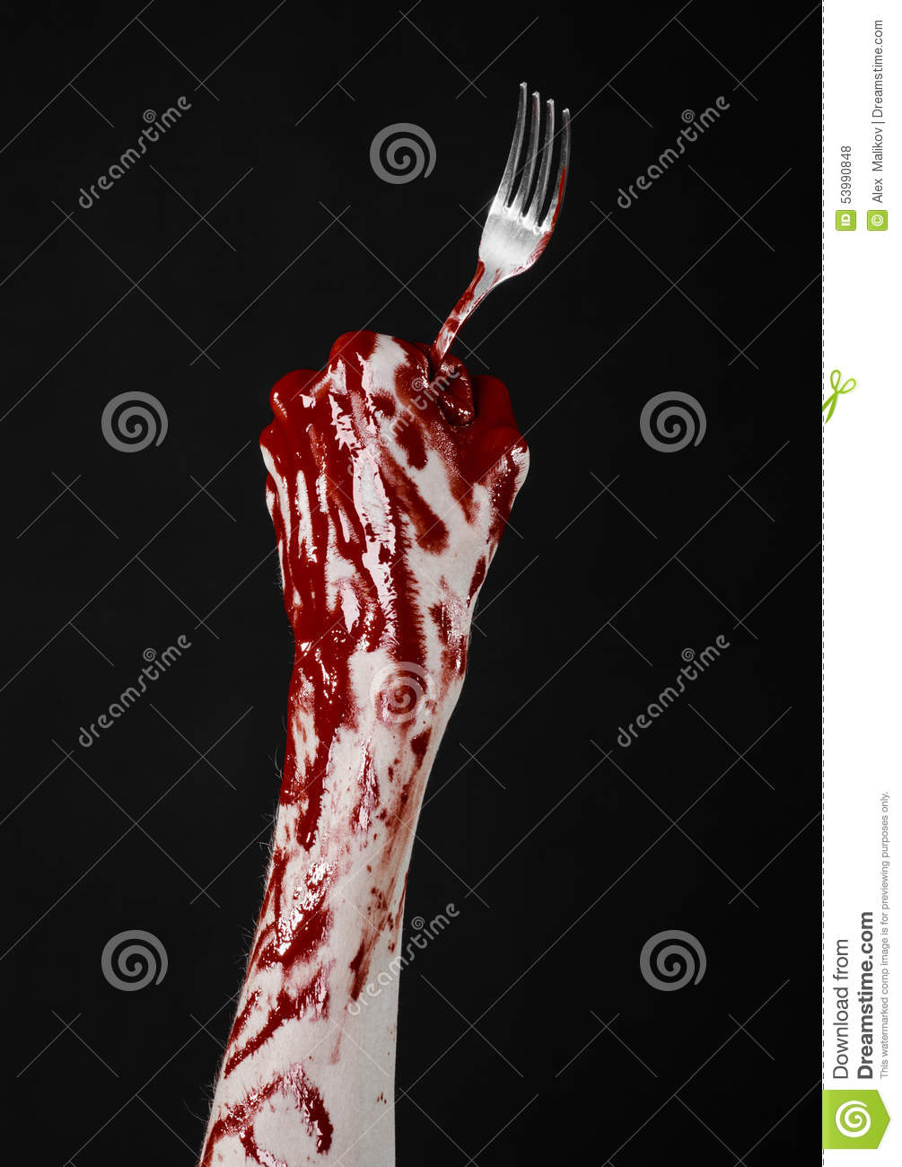 bloody hand holding - photo #46