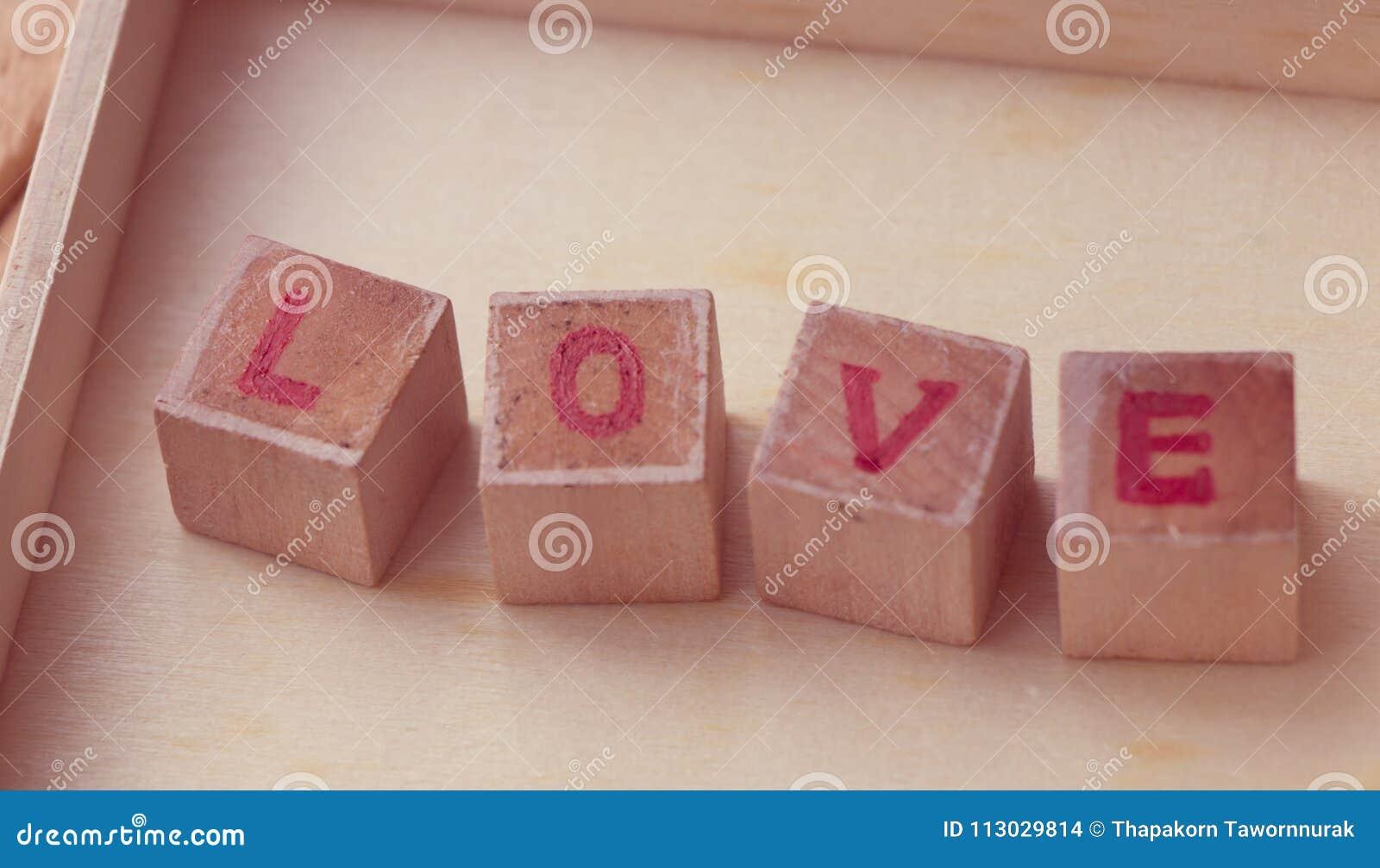 Bloque de palabra del amor