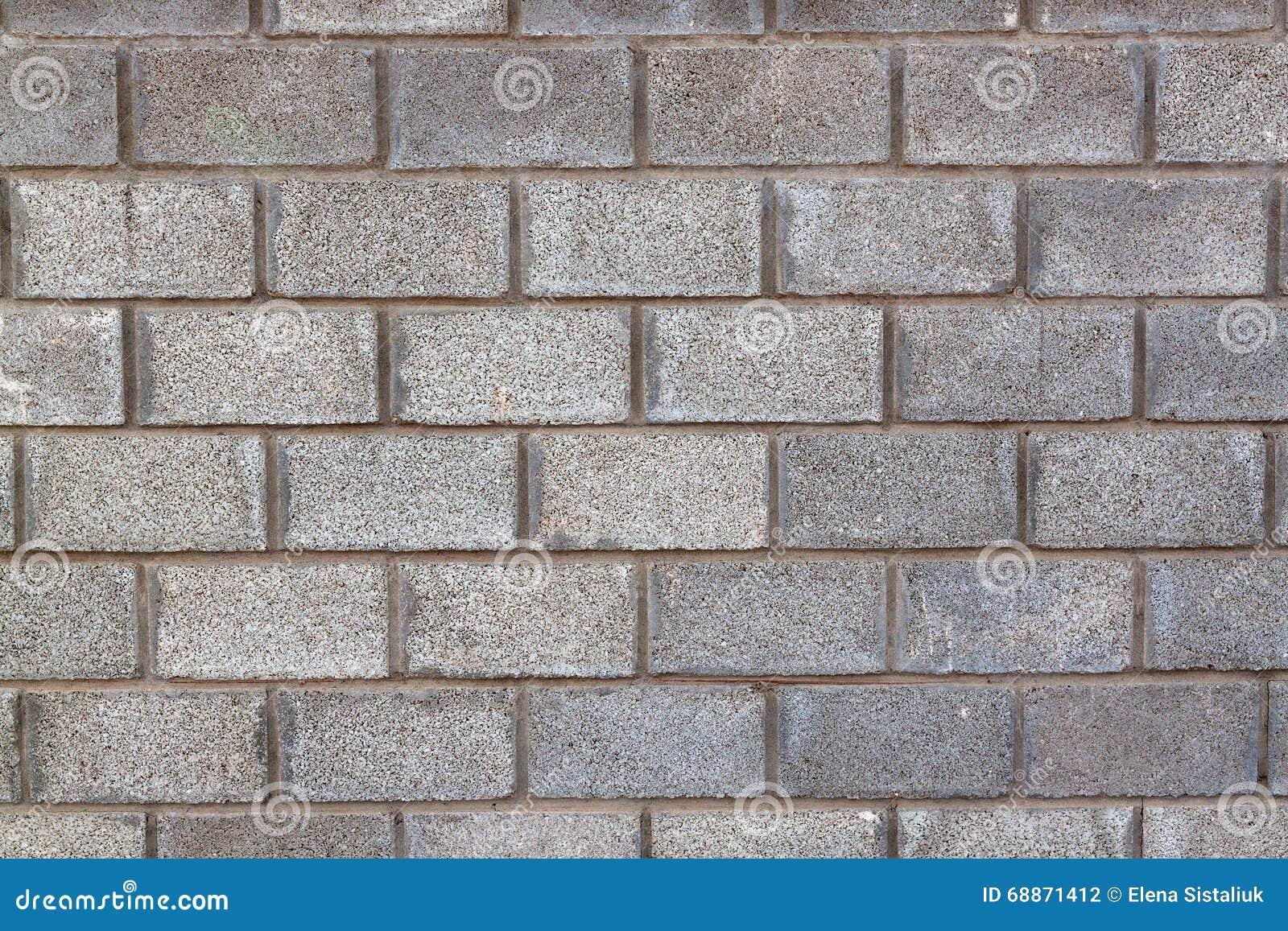 Bloques de cemento grises pared textura del fondo foto de archivo imagen 68871412 - Paredes de cemento ...
