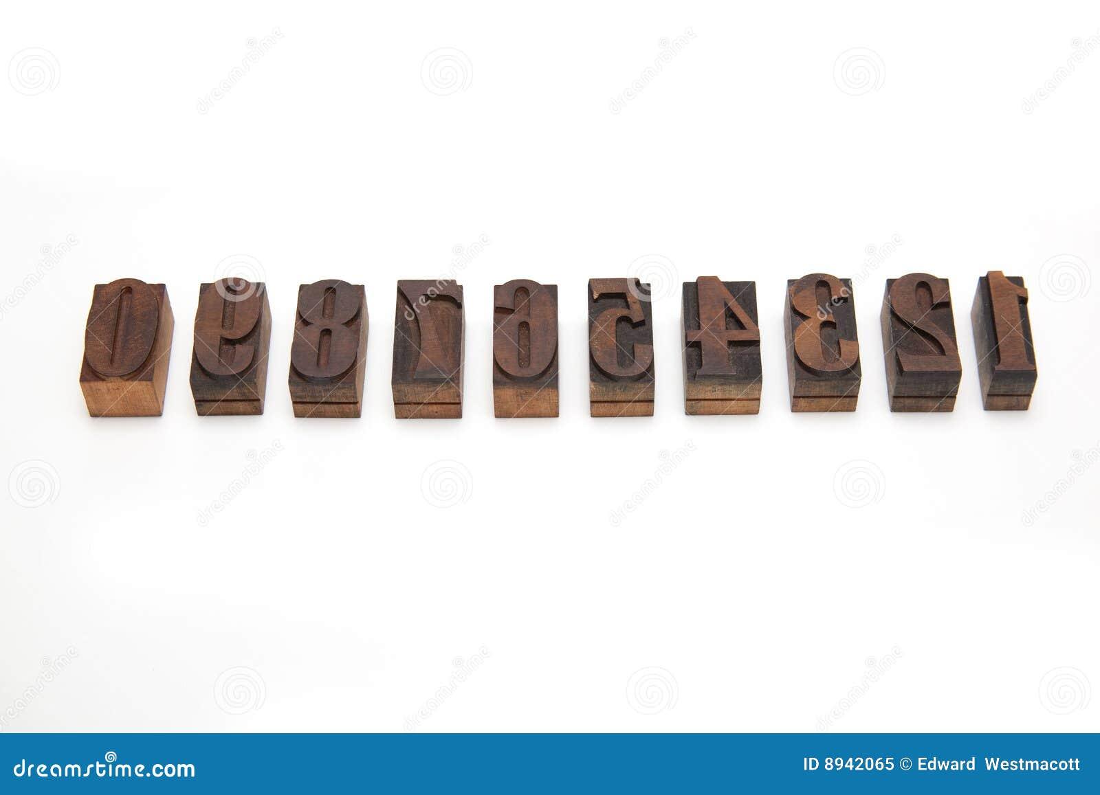 Bloques de impresión de madera